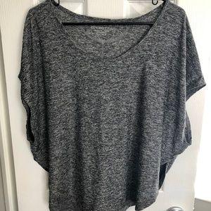 Beyond Yoga Lightweight Heather Grey Baggy T-Shirt